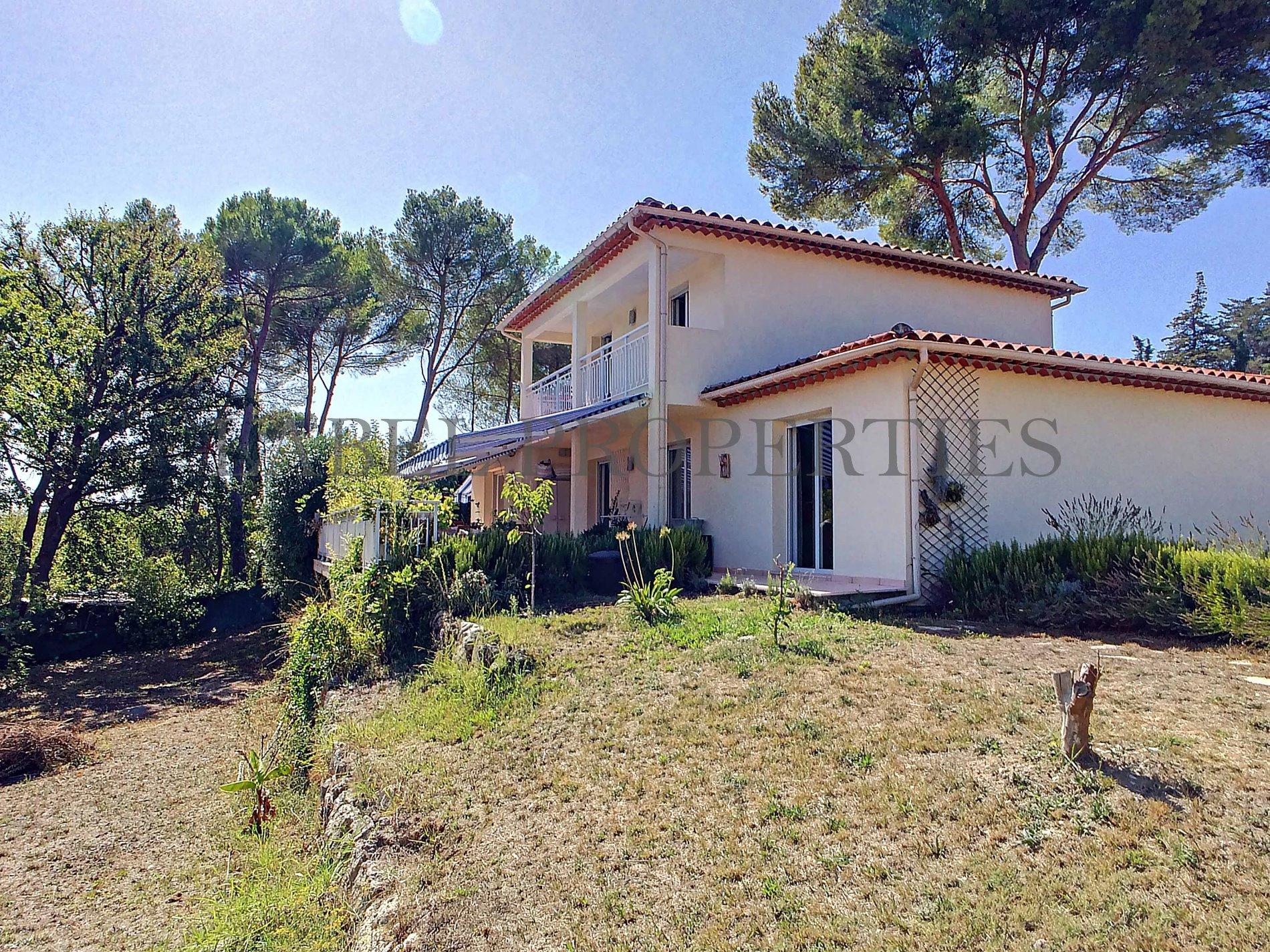 Vente villa mougins avec grand sous sol for Acheter maison mougins